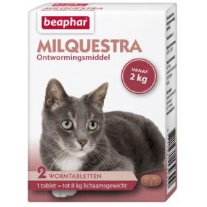 Beaphar Milquestra Ontwormingsmiddel kat