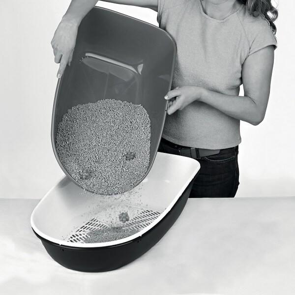 Kattenbak Berto XL met scheidingssysteem