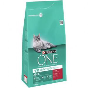 Purina One Adult Rund Volkoren Granen kattenvoer