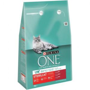 Purina One Sterilcat Rund en Tarwe kattenvoer