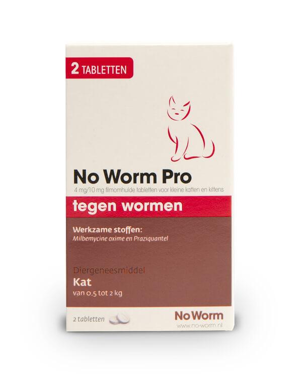 No Worm Pro Kleine Kat & Kitten