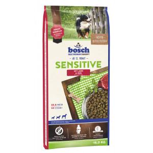 Bosch Sensitive Lam & Rijst hondenvoer 2 x 15 kg