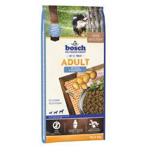 Bosch Adult Vis & Aardappel hondenvoer 15 kg + 3 kg gratis