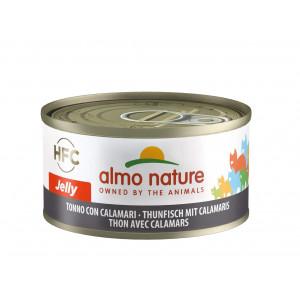 Almo Nature HFC Jelly Tonijn met Inktvis 70 gr
