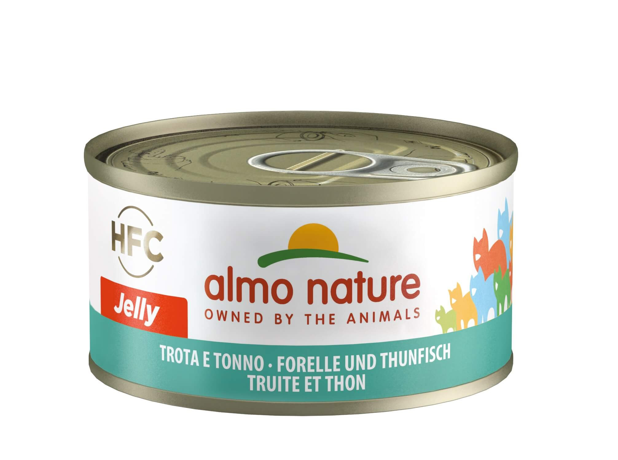 Almo Nature Forel en Tonijn 70 gr