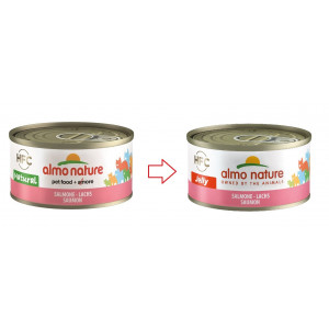 Almo Nature HFC Jelly Zalm 70 gr