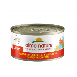 Almo Nature HFC Jelly Zalm met Wortel 70 gr