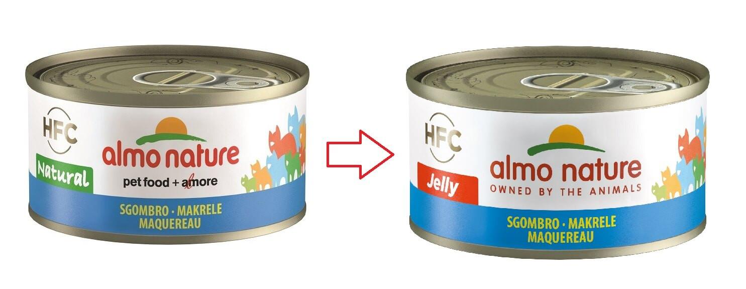 Almo Nature HFC Jelly Makreel 70 gr