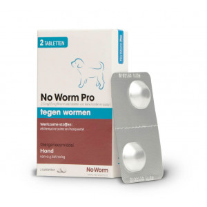 Exil No Worm Pro Hond S
