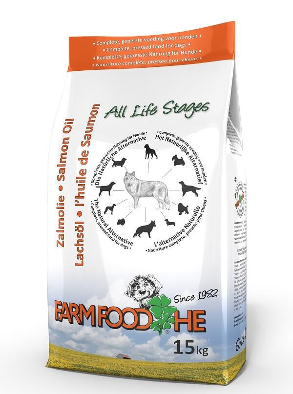 Farm Food HE met Schotse Zalmolie hondenvoer