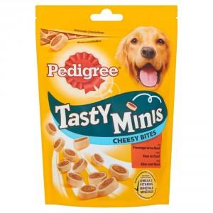 Pedigree Tasty Minis Cheesy Bites Kaas & Rund 140 gram