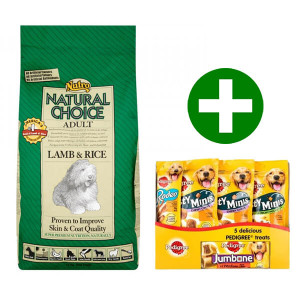 Nutro Choice Adult Lam & Rijst hondenvoer