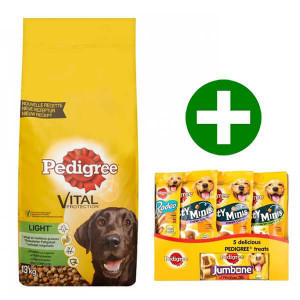 Pedigree Adult Light Kip & Groenten hondenvoer