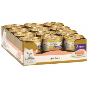 Gourmet Gold Mousse met Zalm +7