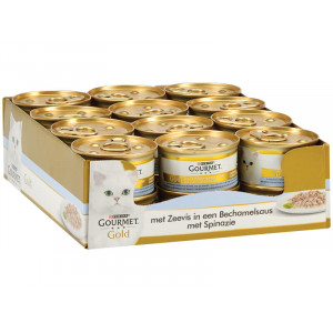 Gourmet Gold Cassolettes Zeevis & Spinazie kat