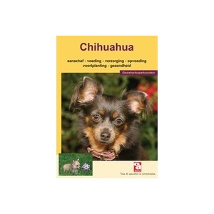 Informatieboekje Chihuahua Per stuk
