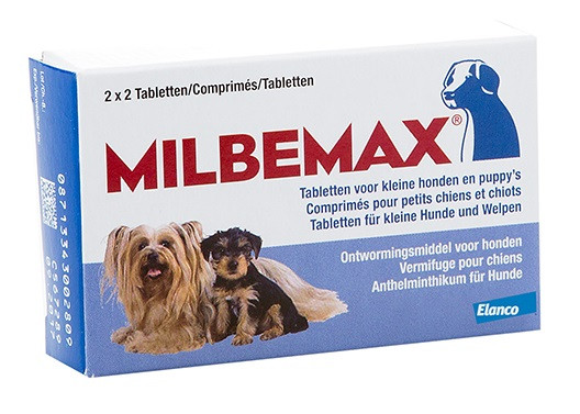 Milbemax Kleine honden en puppies