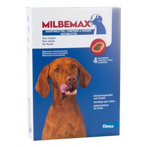 Milbemax kauwtabletten Grote hond