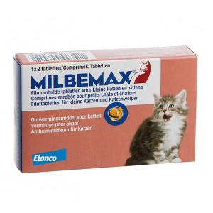 Milbemax Kleine katten en kittens 8 Tabletten