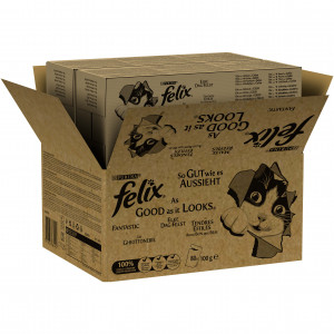 Felix EDF Mix Selectie in Gelei Kat ( 80 stuks)