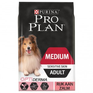 Pro Plan Optiderma Medium Sensitive Skin Adult hondenvoer