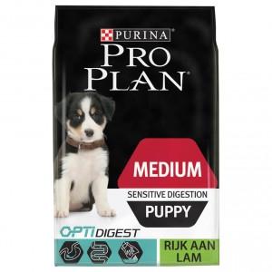 Pro Plan Optidigest Medium Sensitive Digestion Puppy Lam hondenvoer