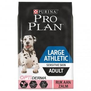 Pro Plan Optiderma Large Athletic Sensitive Skin Adult hond 14 kg