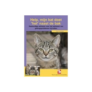 Informatieboekje Help, mijn kat doet ´het´ naast de bak Per stuk