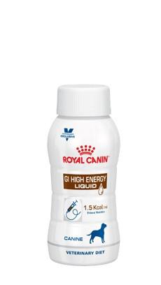 Royal Canin Veterinary Diet GI High Energy Liquid Hond
