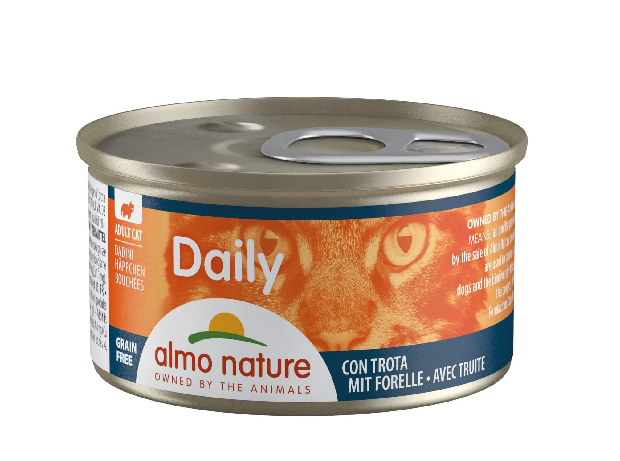 Almo Nature Daily Hapje met Forel 85 gr