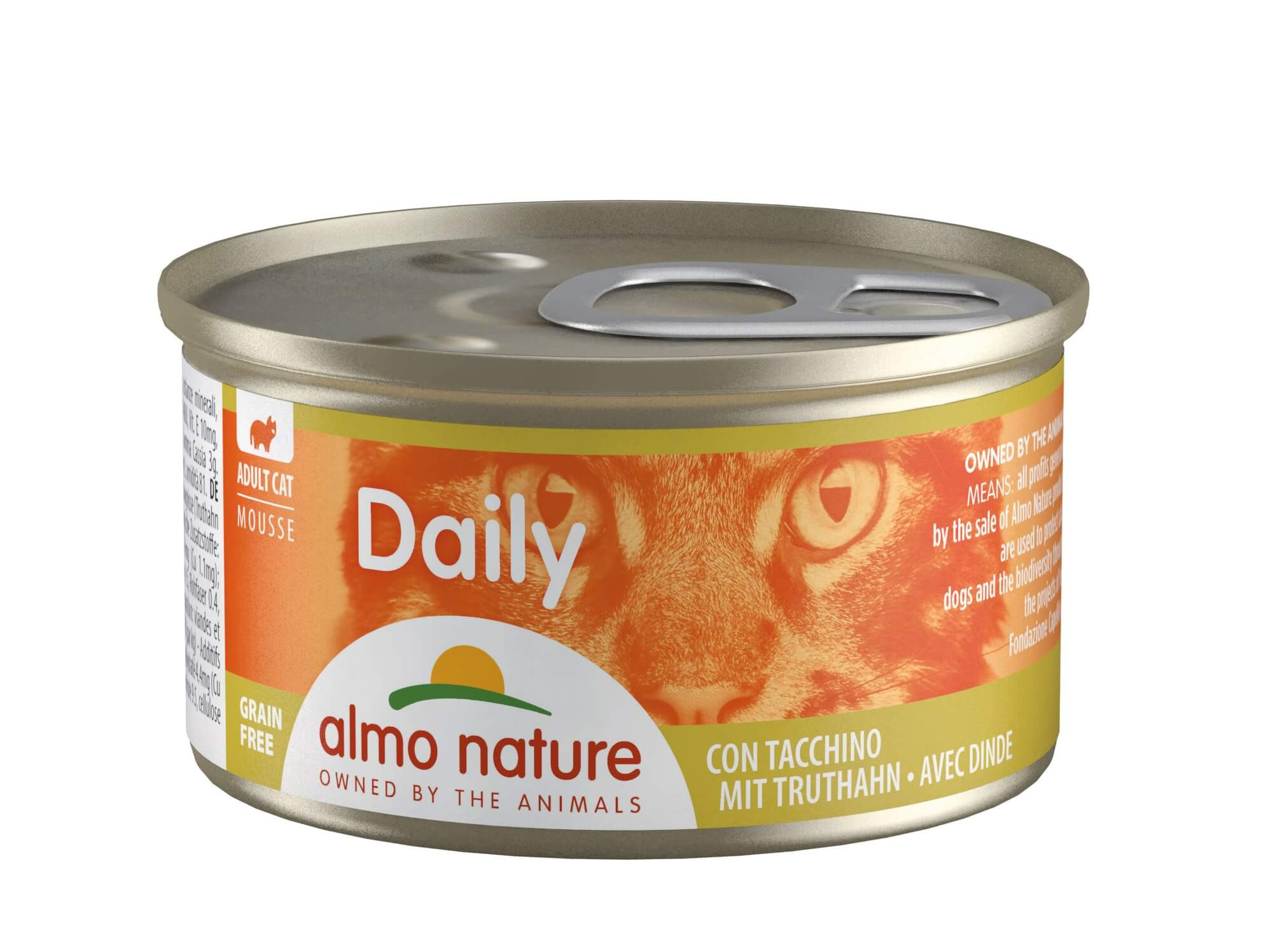 Almo Nature Daily Mousse met Kalkoen 85 gr