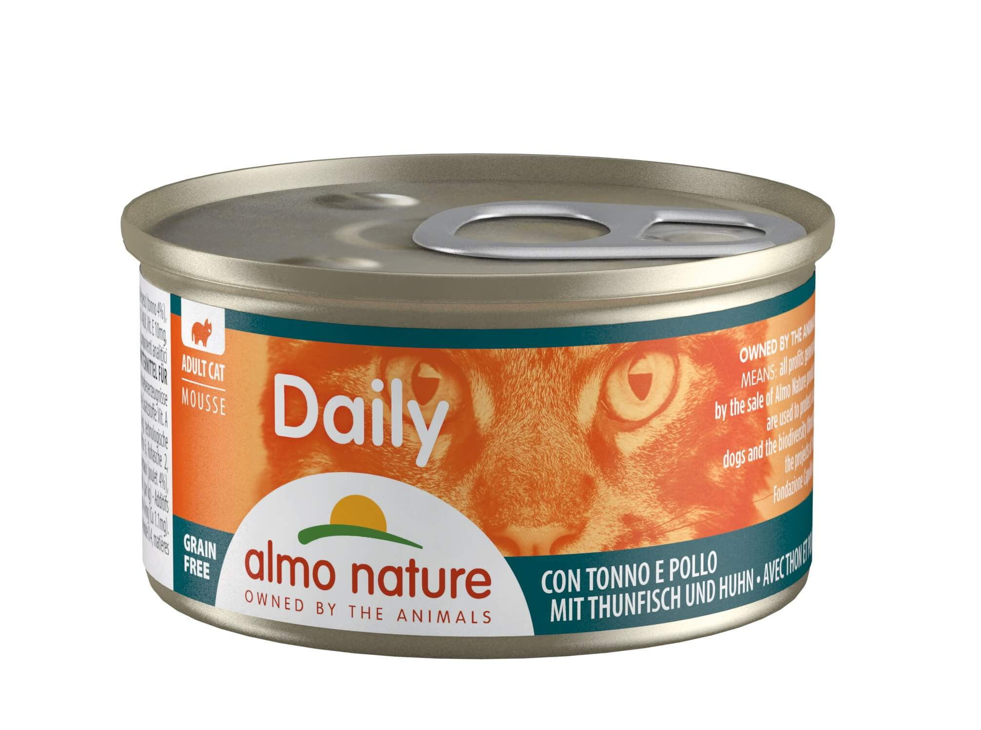 Almo Nature Daily Mousse met Tonijn & Kip 85 gr