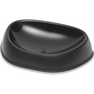 Afbeelding Voer- en drinkbak Exqi zwart voor de kat 200 ml