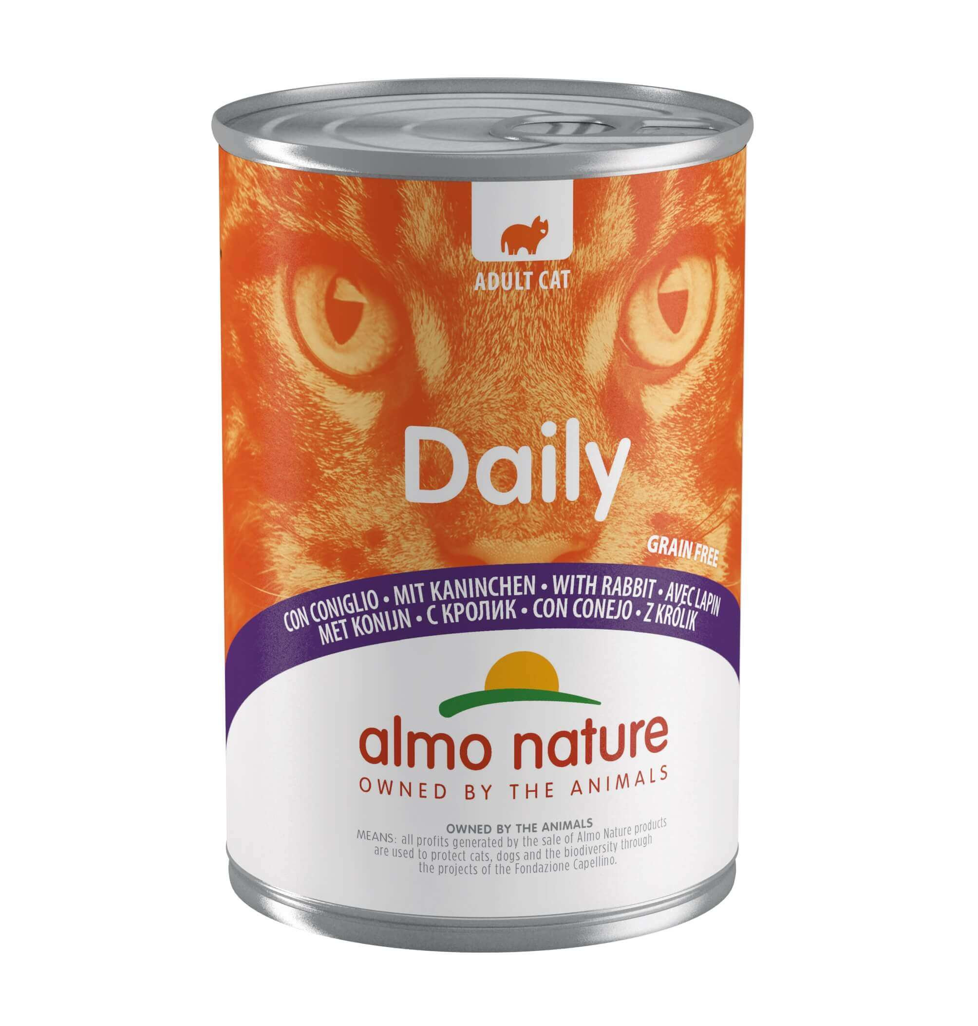 Almo Nature Daily Konijn 400 gram