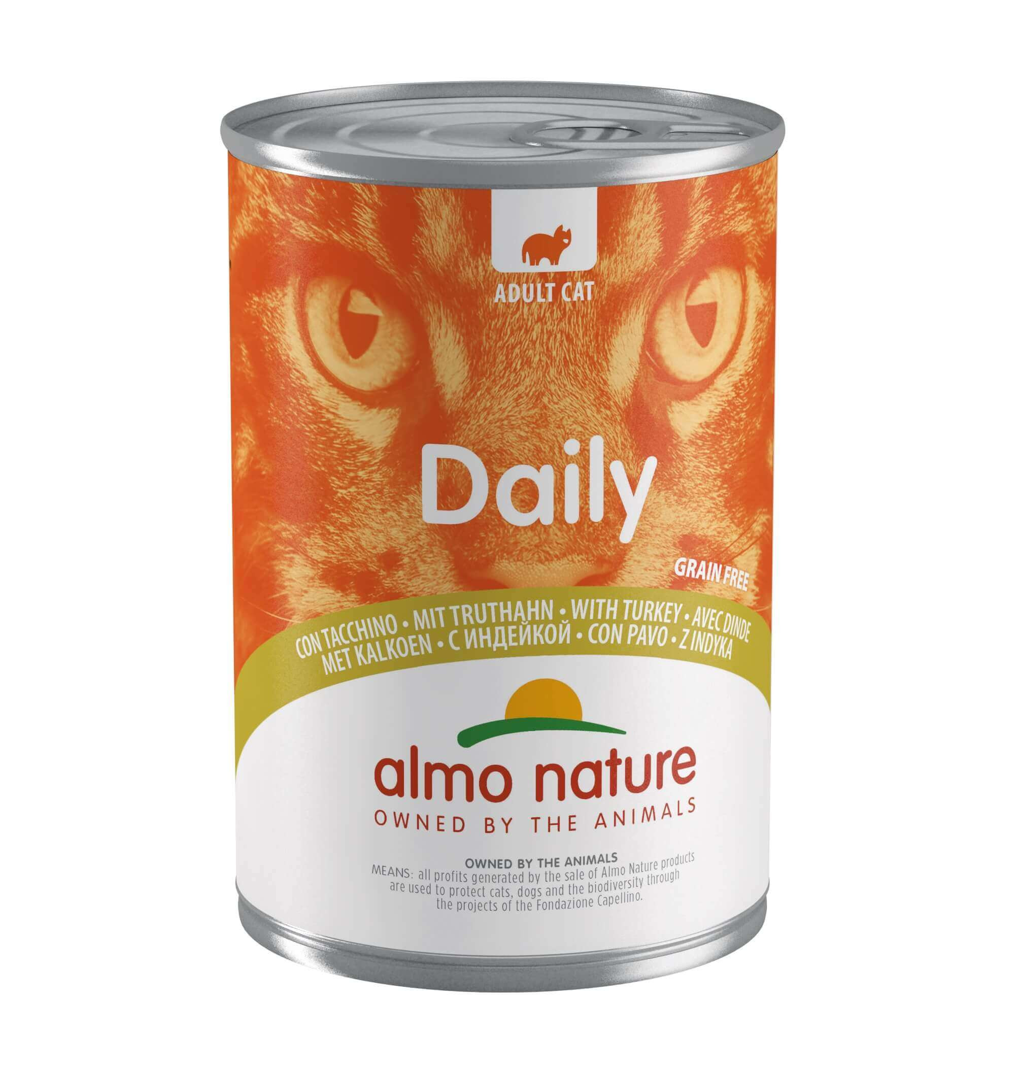 Almo Nature Daily Kalkoen 400 gram
