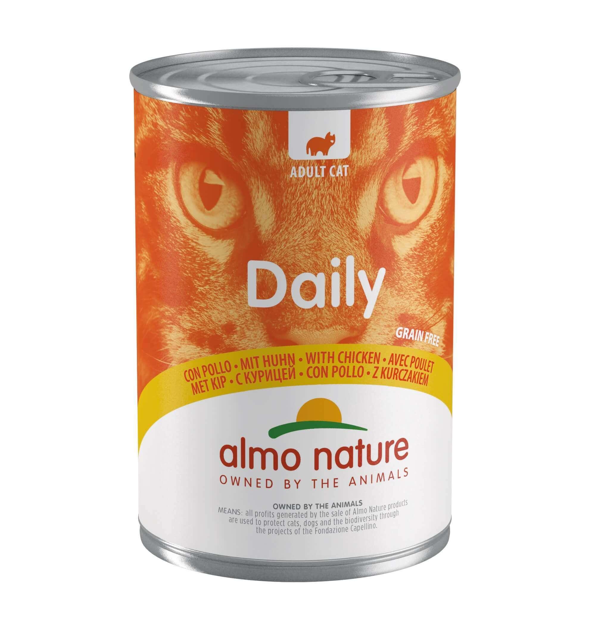 Almo Nature Daily Kip 400 gram