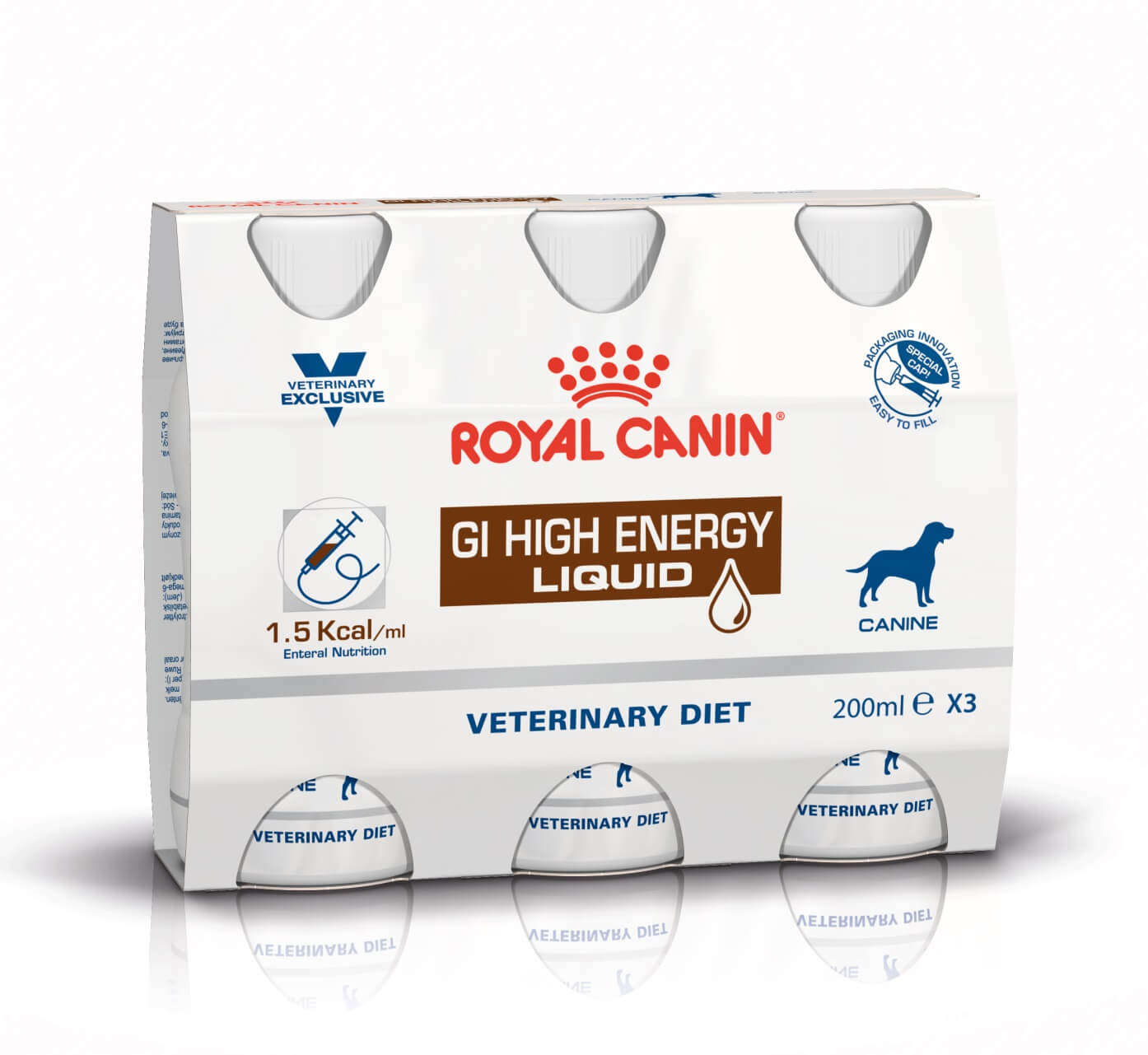 Royal Canin Veterinary Diet GI High Energy Liquid Hond