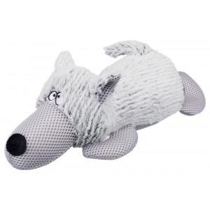 Hond, pluche 38 cm Per stuk