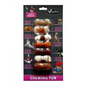 Mini Week snacks voor honden 7.5 cm 7 stuks