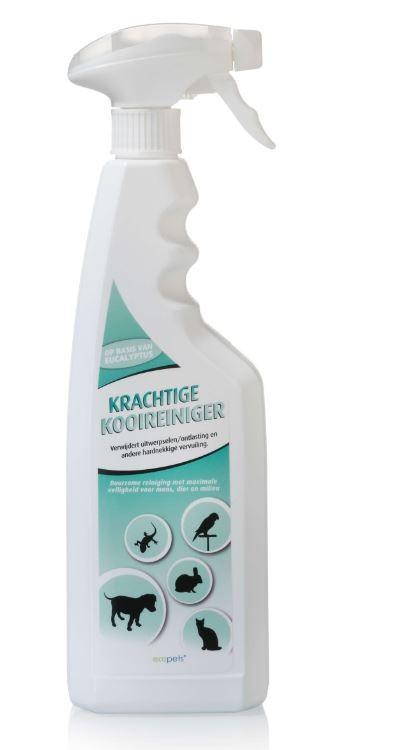 Ecopets Krachtige Kooireiniger 750 ml (spray)