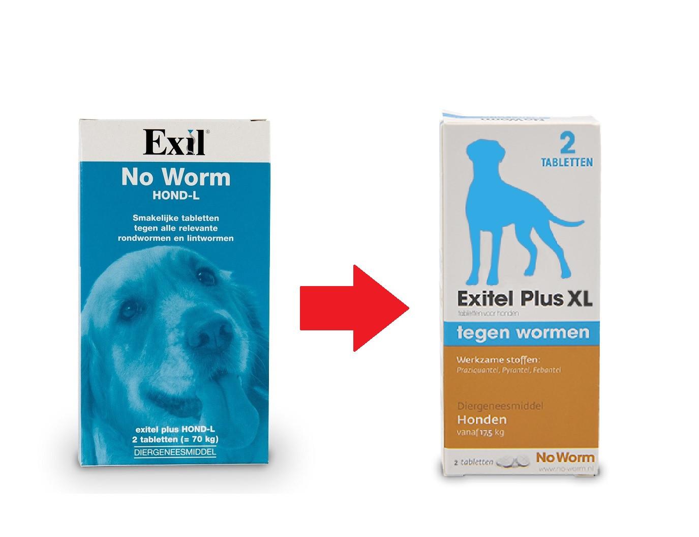Exil No Worm Hond L