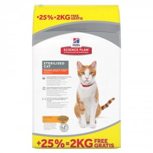 Hill's Sterilised Young Adult kattenvoer 8 kg