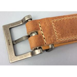 Halsband Montana Rustic lichtbruin voor honden