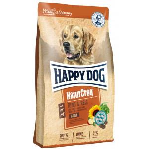 Happy Dog NaturCroq Rund & Rijst hondenvoer