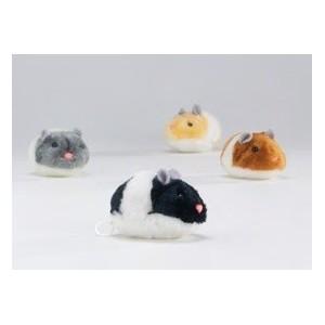 Afbeelding Trillende Pluche Hamster Per stuk door Brekz.nl