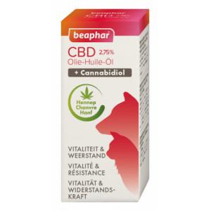 Afbeelding van Beaphar CBD Olie voor hond en kat 10 ml Per 2