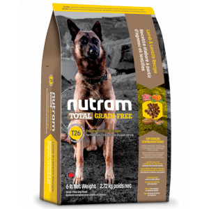 Nutram Graanvrij Lam & Peulvruchten T26 hond 11,4 kg
