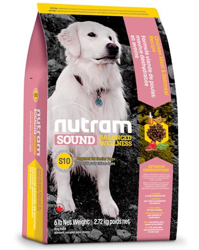 Nutram Sound Balanced Wellness Senior S10 hond
