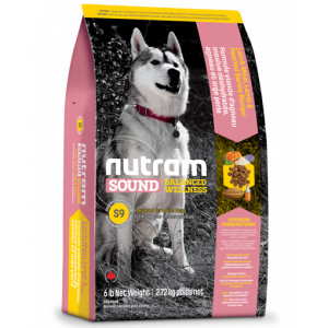 Nutram Sound Balanced Wellness Adult Lam S9 hond