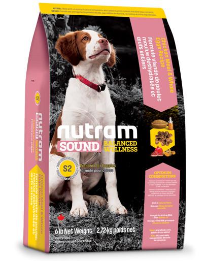 Nutram Sound Balanced Wellness Puppy S2 hond